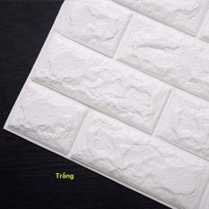 COMBO 10 tấm xốp dán tường giả gạch 3D kt 70x77cm
