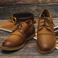 Giày Buộc Dây Phong Cách Đường Phố LG089