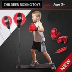 Bộ đồ chơi đấm bốc cho bé Boxing SLiit (có găng tay, trụ đỡ, giá đỡ)