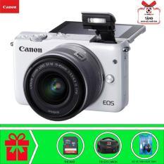 Canon EOS M10 với Lens Kit EF-M 15-45m (Trắng) Chính hãng Canon Lê Bảo Minh