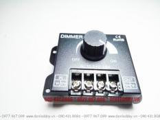 Dimmer LED 12V 24V 30A DC – Điều chỉnh tăng giảm độ sáng đèn LED