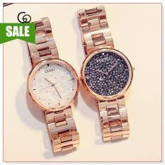 Đồng hồ nữ GUOU 8152 thiết kế đơn giản, sang trọng, phong cách
