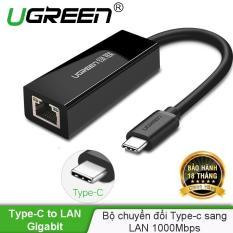Cáp chuyển đổi USB type C sang đầu mạng Ethernet RJ45 Gigabit UGREEN 50307 – Hãng phân phối chính thức
