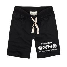 Quần short thun tập GYM thể thao ( đen )