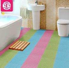 Combo 5 tấm thảm trang trí nhà tắm chống trơn trượt