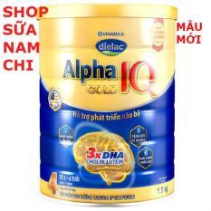 Sữa bột Dielac Alpha Gold step 4 1.5KG (LON KHỔNG LỒ SIÊU TIẾT KIỆM)