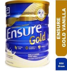 Sữa Ensure Gold 850gr (mới) hương Vanilla- Hàng Malaysia