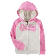 Áo khoác bé gái Oshkosh màu hồng