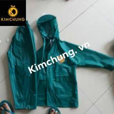Áo mưa cho bé vải dù cao cấp, bé từ 7-10 tuổi (màu xanh ngọc)