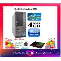Máy tính đồng bộ Dell Optiplex 790 core i3 RAM 8GB HDD 25GB ,Tặng USB wifi , Bàn di chuột – Bảo hành 24 tháng