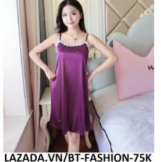 Đầm Ngủ Phi Bóng Mặc ở Nhà Thời Trang Mới – BT Fashion (ĐN-Ren Viền 01)