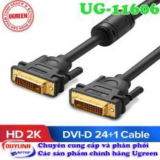 Cáp DVI (24+1) dài 1,5m hỗ trợ phân giải Full HD Ugreen 11606