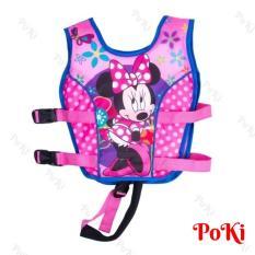 Phao bơi trẻ em, áo phao bơi MICKEY (Bé từ 2 – 10 tuổi), chất liệu tiêu chuẩn EU cao cấp – POKI