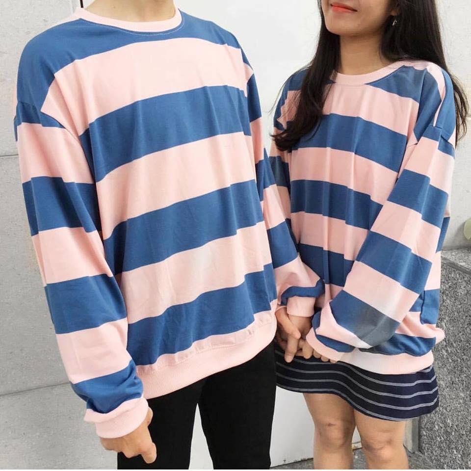 sweater hồng