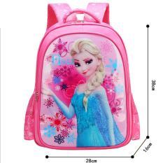 Balo trẻ em bé gái công chúa Frozen BBS316 Hồng