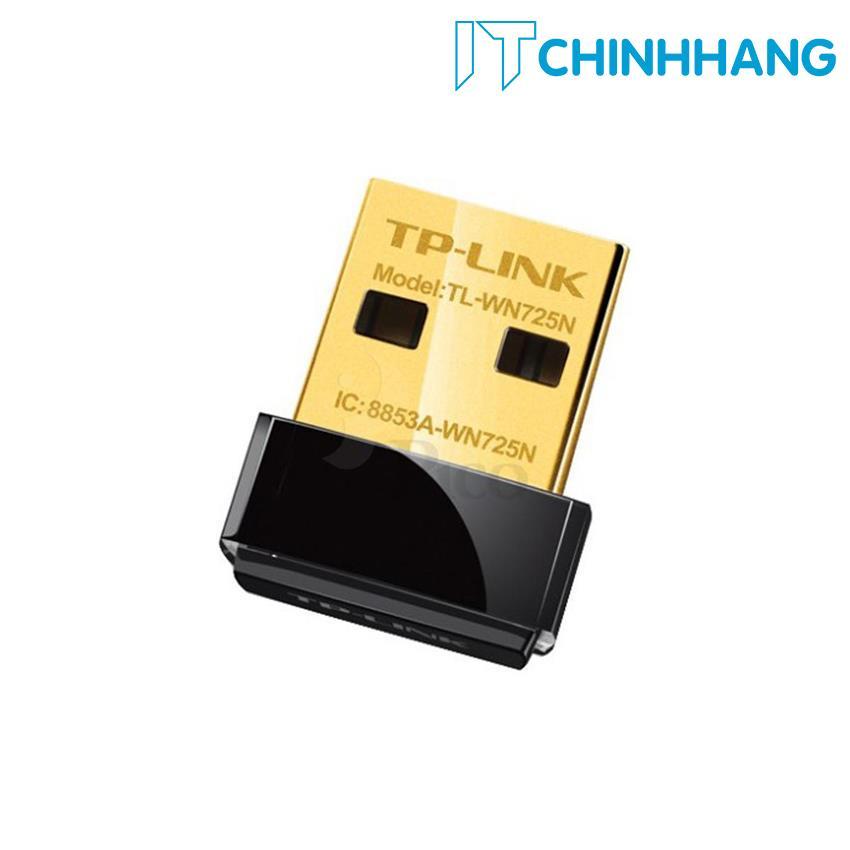 USB kết nối Wifi TP-Link TL-WN725N Mini chuẩn N 150Mbps – HÃNG PHÂN PHỐI CHÍNH THỨC