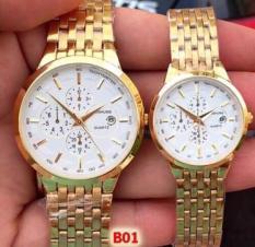 Đồng hồ đôi BASHUNS 3 mặt tình yêu vĩnh cửu chống nước