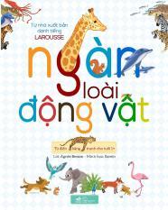 Từ điển bằng tranh cho tuổi 1+: Ngàn Loài động vật – Phong Thu – Nhã Nam