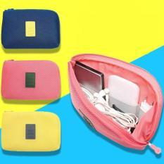 Túi đựng phụ kiện điện thoại SPK220 (Xanh)