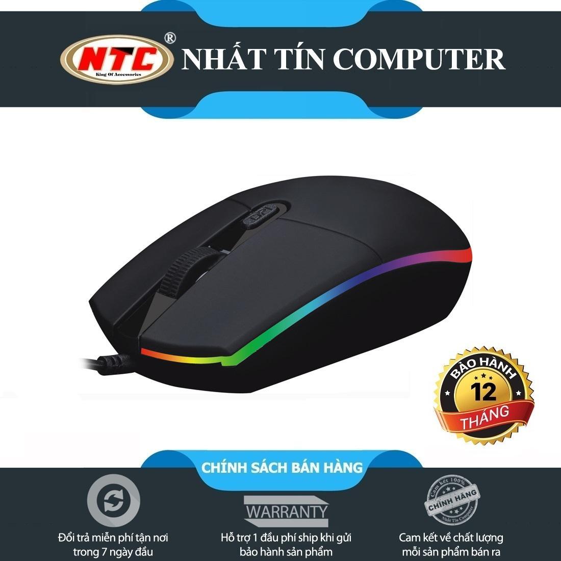Giá Chuột chuyên game R8 1605 led RGB – model 2018 (Đen) – Hãng phân phối chính thức Tại Nhất Tín Computer (Tp.HCM)