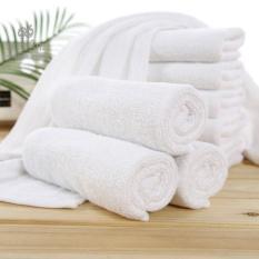 Combo 10 khăn mặt Khách sạn 34×82 100g Hàng Công ty