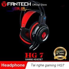Tai nghe chụp đầu chơi game có đèn led và điều chỉnh âm lượng – Fantech HG7