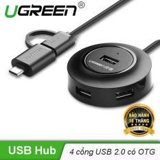 USB type C sang 4 cổng USB 2.0 hỗ trợ chức năng OTG UGREEN CR106 40961