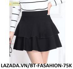 Chân Váy Xòe Lưng Thun Duyên Dáng Thời Trang Hàn Quốc – BT Fashion (VA01)