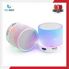 Loa Bluetooth HLD-600 mini có đèn LED nháy theo nhạc