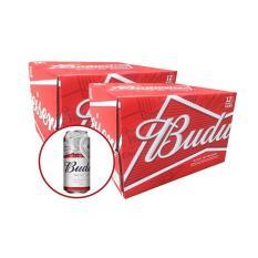Bộ 2 Budweiser 500ml thùng 12 lon