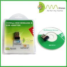 USB thu wifi KIWI VISION N151 Nano -USB thu sóng wifi – USB thu phát wifi – USB thu sóng wifi giá rẻ