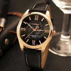 Đồng hồ thời trang nam dây da cao cấp YAZOLE V11