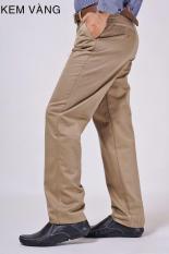 Quần Kaki Nam Trung Niên Vải Dày Bền Có Size Lớn ( từ 45-100kg)