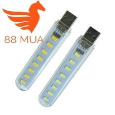 Đèn LED dùng cổng USB cho máy tính, laptop (Vàng) ĐÈN TRỢ SÁNG LAPTOP