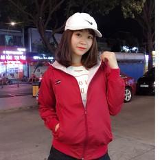 Áo khoác dù nữ xinh thế hệ mới C089 (Đỏ) PKSR