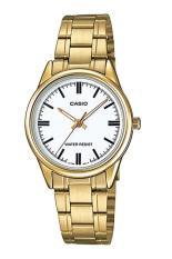 Đồng hồ nữ dây thép không gỉ Casio LTP-V005G-7AUDF