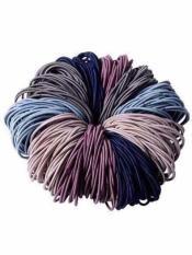Combo 100 dây chun buộc tóc mix đủ màu