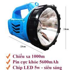 Đèn pin SIÊU SÁNG DP-7051, đèn pin sạc, đèn pin loại to – Đức Hiếu Shop
