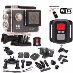 CAMERA HÀNH TRÌNH A19 – Wifi Có remote – Chế độ Chụp hình 4k- Full phụ kiện đi kèm