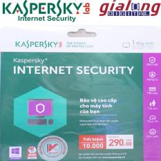 Phần mềm diệt Virus Kaspersky Internet Security bảo vệ máy tính – Bản tiết kiệm