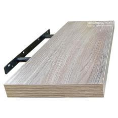 Kệ nổi trên tường 1 thanh 60×19.5×3 cm Modo Harac M2 (Xám vân gỗ)