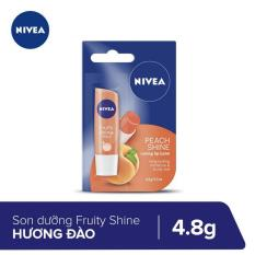 Son Dưỡng Ẩm Hương Đào Nivea 4.8g _ 85031