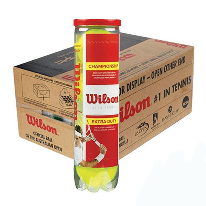 1 thùng bóng tennis wilson đỏ 4