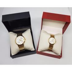 Đồng hồ cặp đôi Baishuns 6057 Giả cơ Lộ máy Tuyệt đẹp