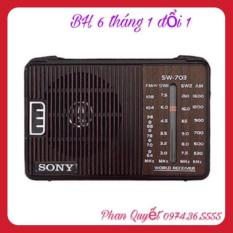 Đài Radio Sw-703 4 Kênh Bắt Sóng Rất Tốt Bảo Hành 12 Tháng