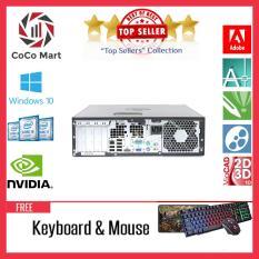 Máy tính đồng bộ HP 6000 Pro SFF Chạy CPU Core 2 Duo E8400, Ram 4GB, HDD 500GB + Bộ Quà Tặng – Hàng Nhập Khẩu