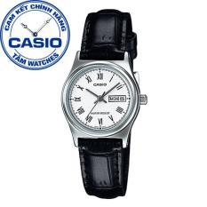 Đồng hồ nữ dây da Casio Standard Anh Khuê LTP-V006L-7BUDF