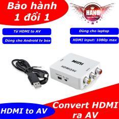 Chuyển tín hiệu Android box HDMI ra AV cho tivi thường