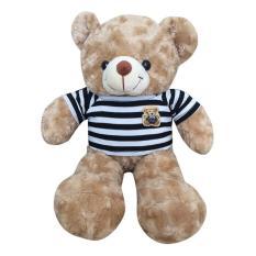 Gấu Bông Teddy Cao Cấp Size 50Cm Hàng Màu Sữa