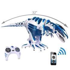 Khủng Long Roboraptor Blue – đồ chơi điều khiển từ xa – vận động ngoài trời – cảm ứng thông minh